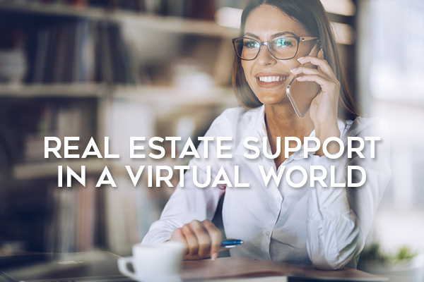 Real Estaate Support in a Virtual World